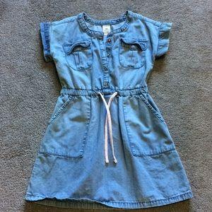 Carter's chambray denim dress
